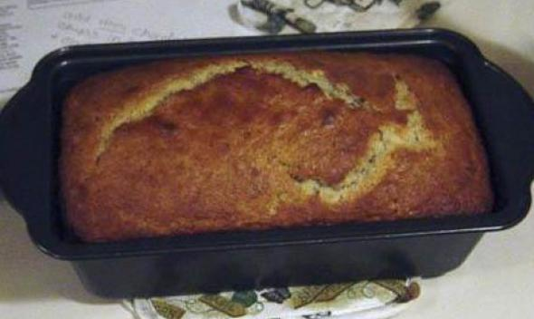 Half Baked Banana Bread