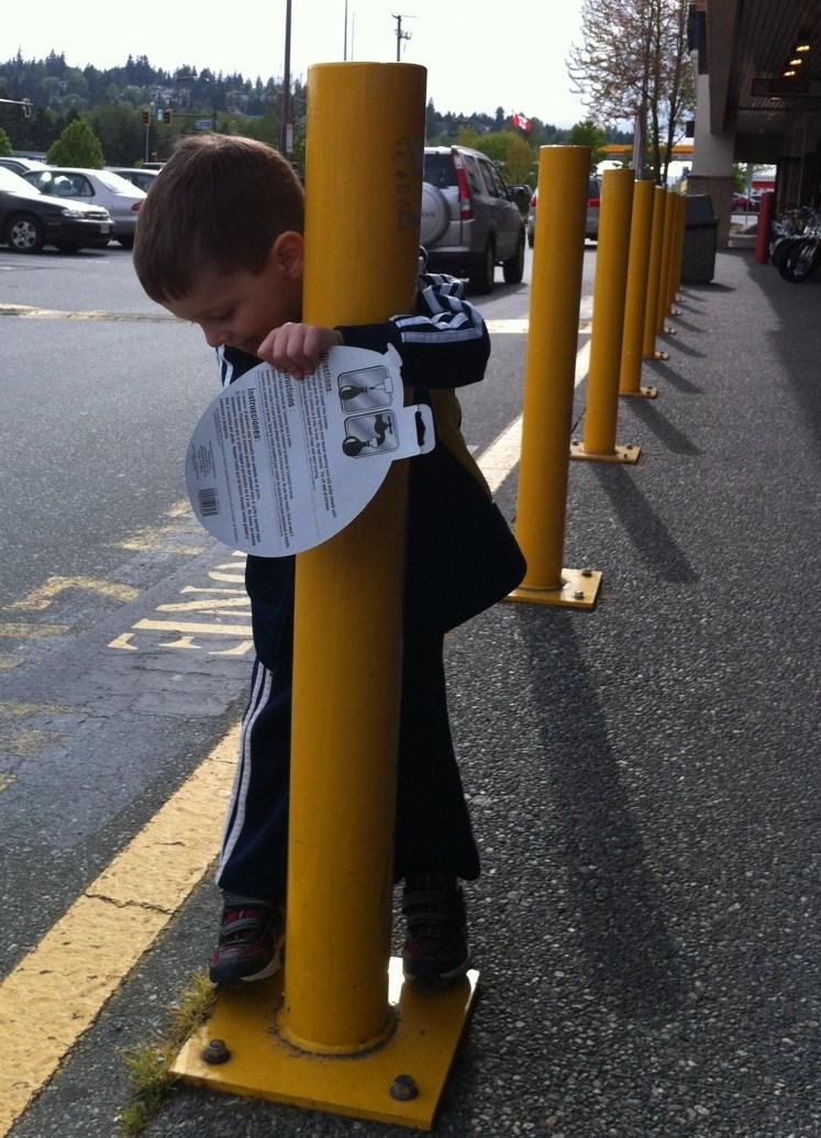 Pole Dancing Preschooler