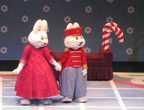 The One Foot Hop to Max & Ruby in the Nutcracker Suite