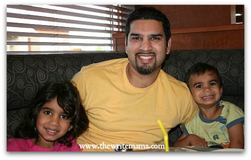 My Daddy Rocks: Inaya and Aariz