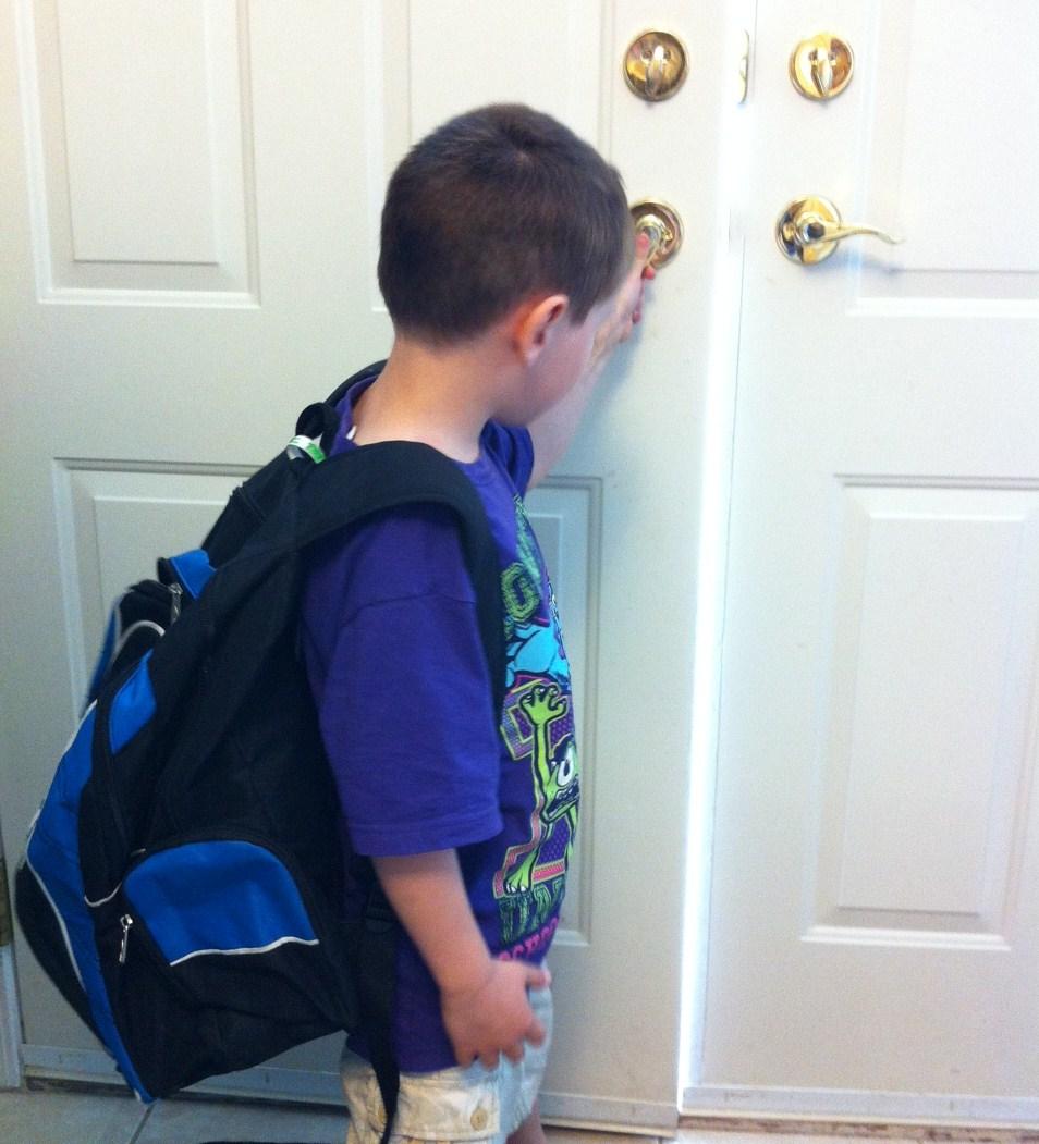 Kindergarten Vignettes: The Drop Off