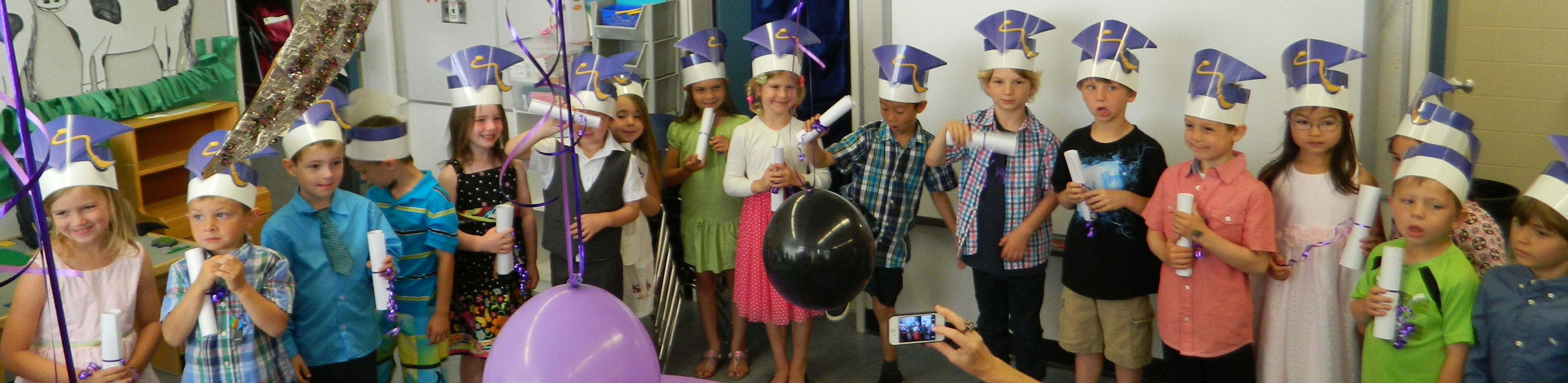 Kindergarten Vignettes: Graduation Day