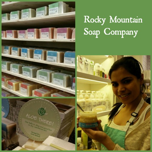 Rocky Mountain Soap Collage
