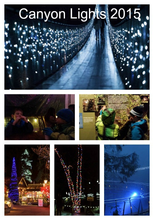 A Visit to Capilano Canyon Lights