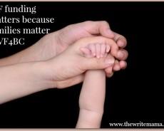IVF Funding Matters because Families Matter